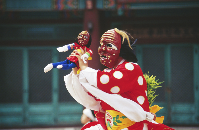 Gangnyeong talchum Korean mask dance