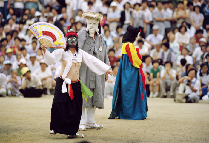 Korean mask dance Gangnyeong talchum