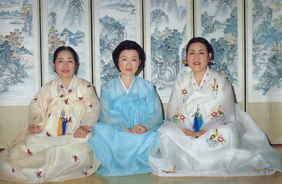 Legendary master Korean folk singers