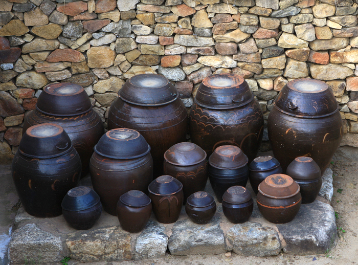 Jangdok traditional Korean earthenware