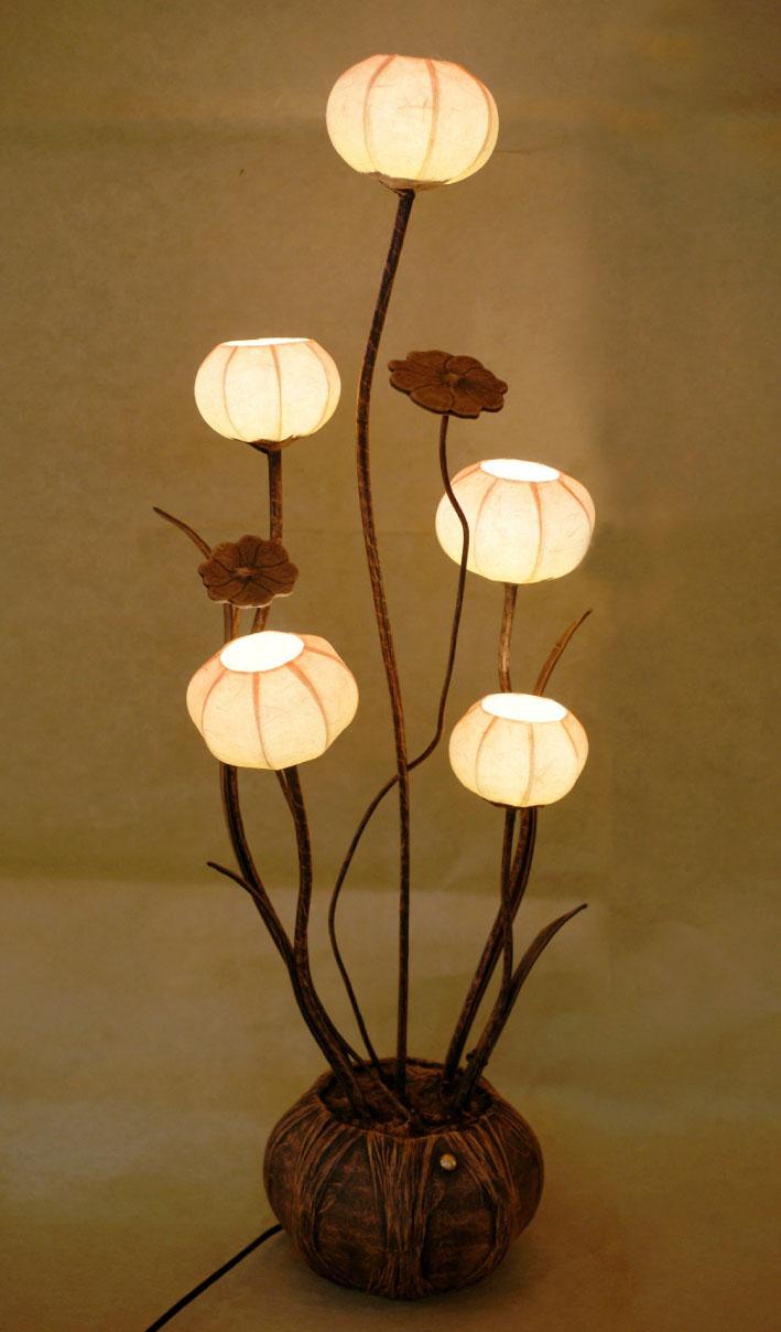 Flower Lamp Shade : Antique alive