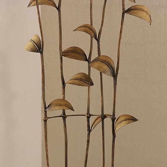 tall chic flower leaf modern natural floor bedroom art lamp lighting. Black Bedroom Furniture Sets. Home Design Ideas