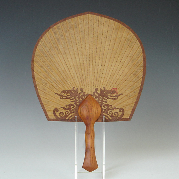 Paper Bamboo Fans Asian Paper Hand Fan With