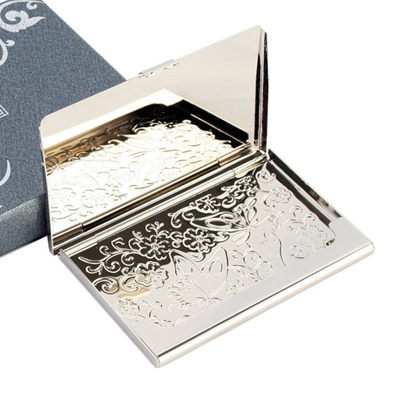 Business card holder engraved with mother of pearl bamboo design business card holder engraved with mother of pearl bamboo design colourmoves Images
