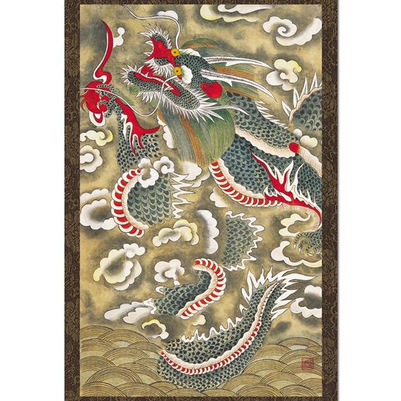 Korean Dragon: Asian Art Craft Music, Decor Shop, Handicraft, Antique