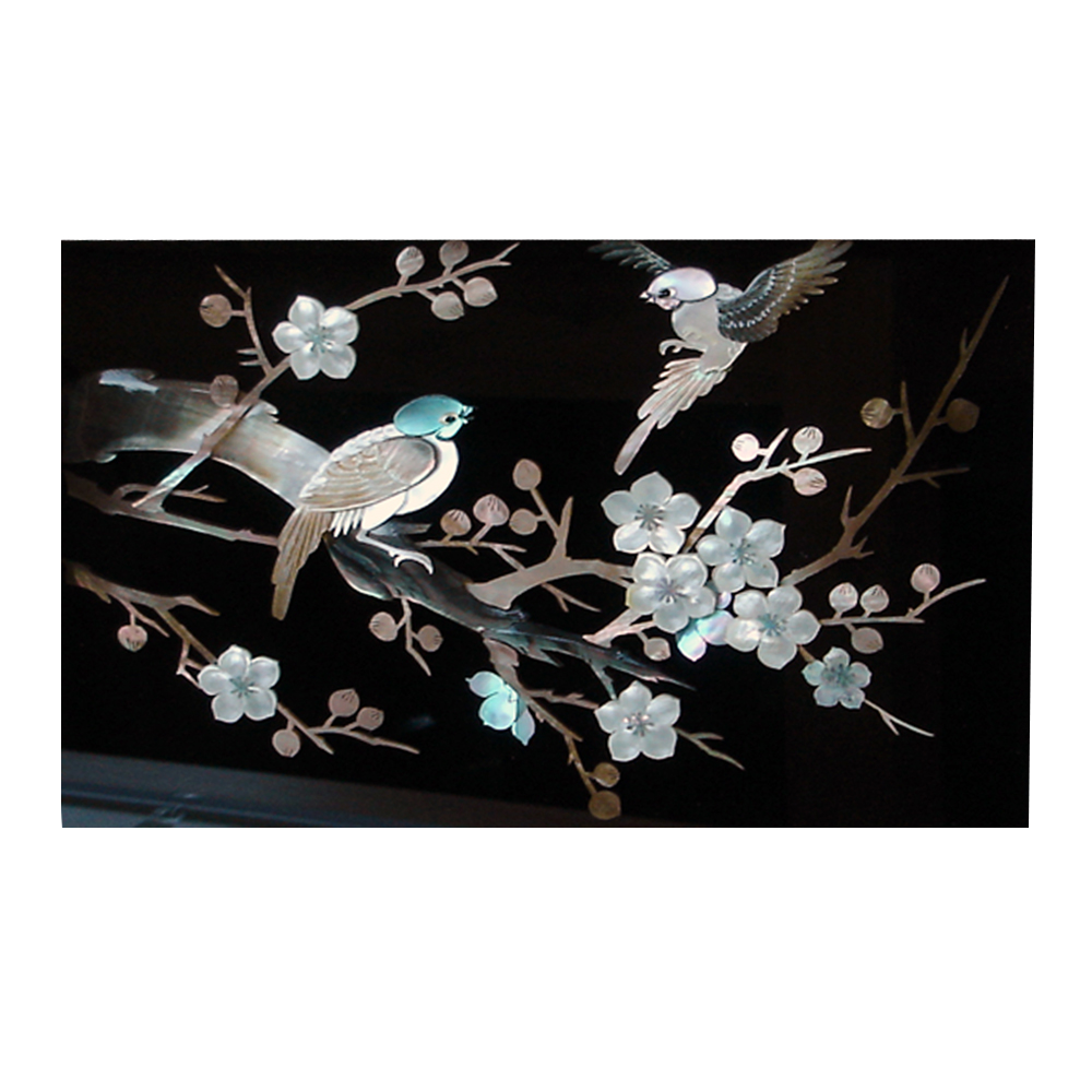 Pearl Wall Art Decor Korean Plum Flower